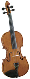 Cremona SV-175 1/2 Size Violin Outfit Cremona SV-175 1/2 size Premier Student Violin with Solid Maple Back and Sides
