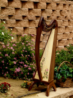 BriarRose celt, Fin, 29 String Briar Rose Celtic Harp Floor, Fin, 29 String, Specify Cherry or Walnut, no levers